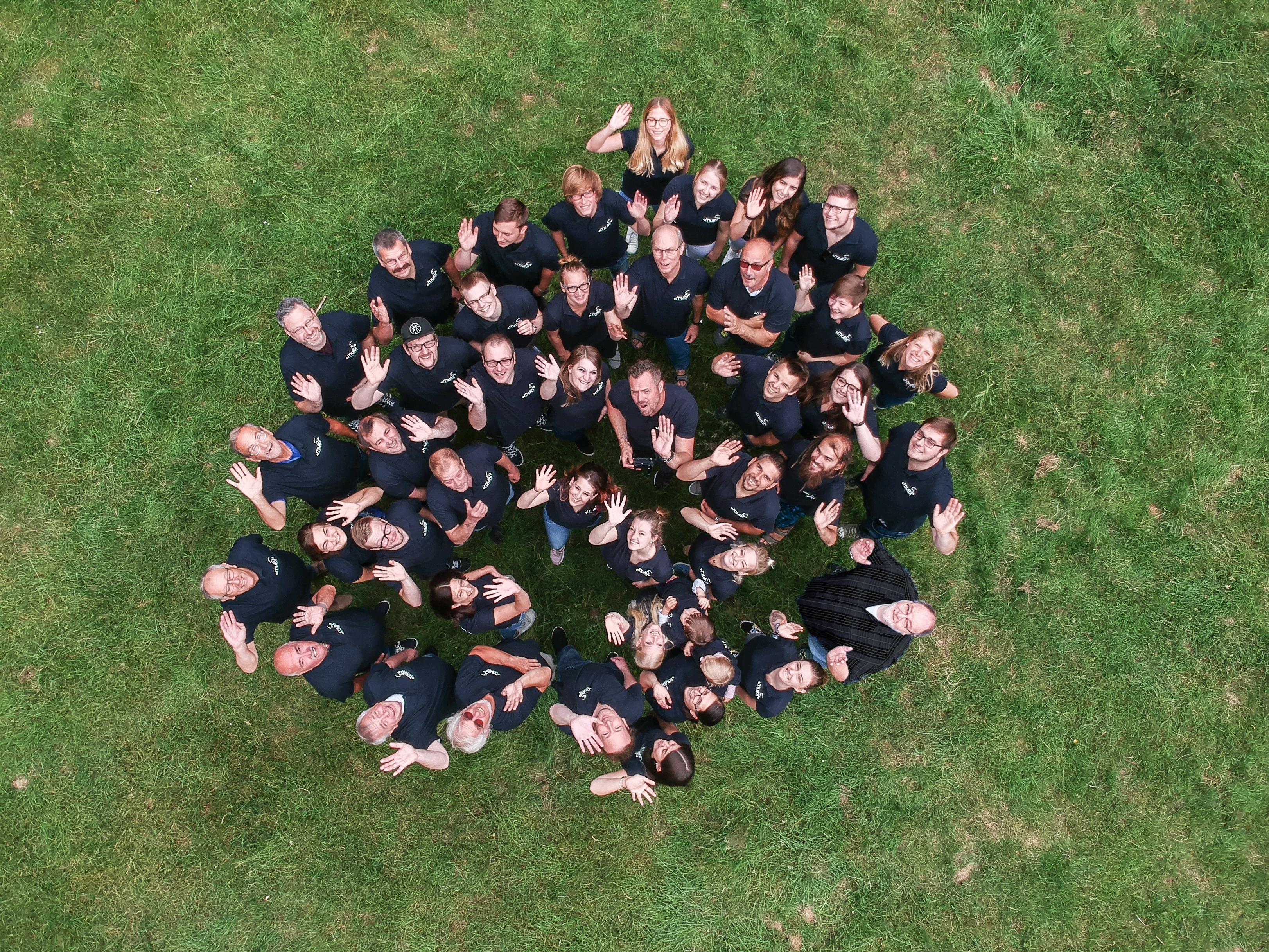 Multi Team 2018 von oben