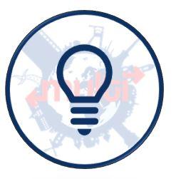 Glühbirne Multi Logo